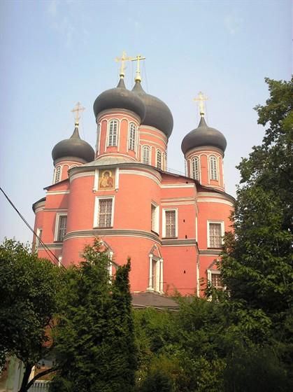 Донской монастырь - Карта