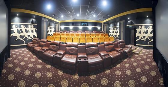 """Интерьер кинотеатра  """"Palladium Cinema """". следующая.  Общая информация.  Просмотров: всего 687, из них 3 сегодня."""